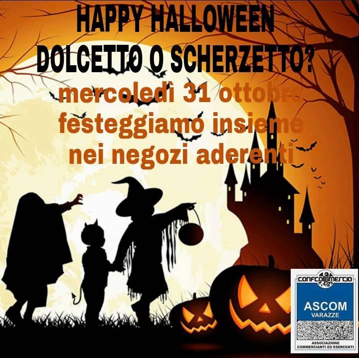 Halloween 2018 commercianti Varazze