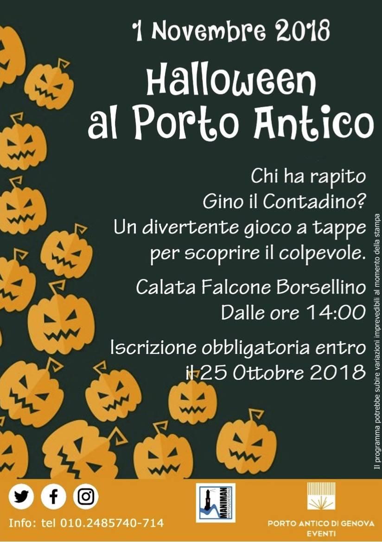 Halloween 2018 Porto Antico Genova