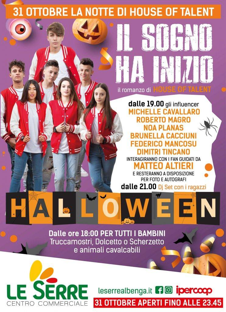 House of Talent & Halloween Le Serre