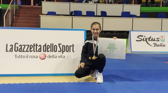 Il Karate Club Savona al campionato italiano Esordienti