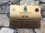 Inaugurata la nuova sede della protezione civile di Giustenice