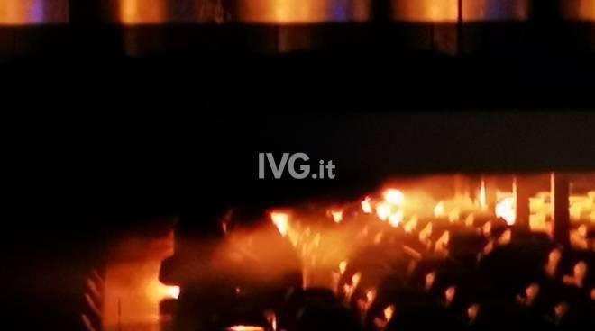 incendio terminal auto
