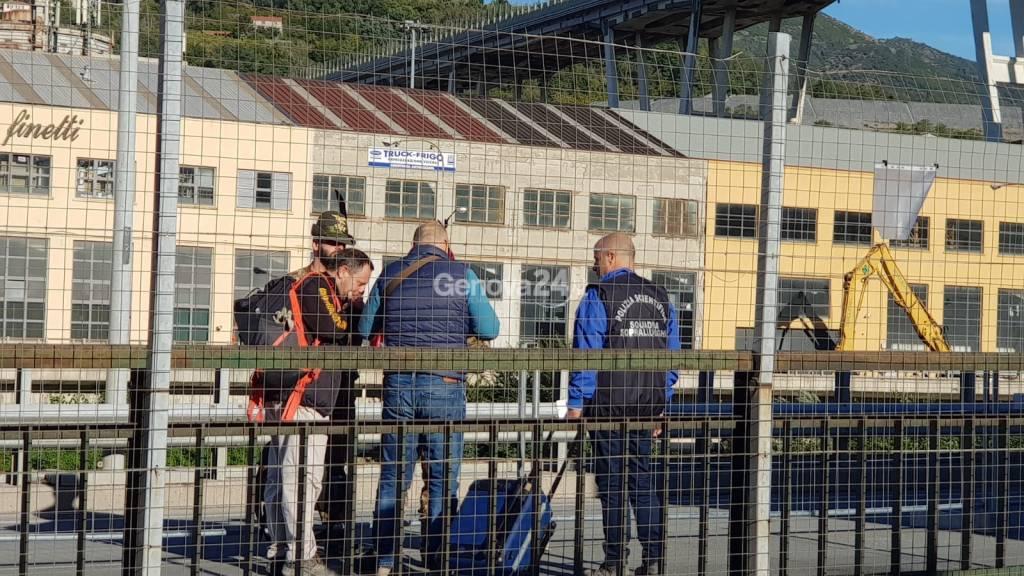 incidente probatorio hangar macerie morandi