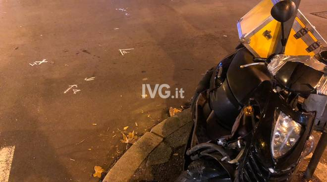 incidente scooter savona