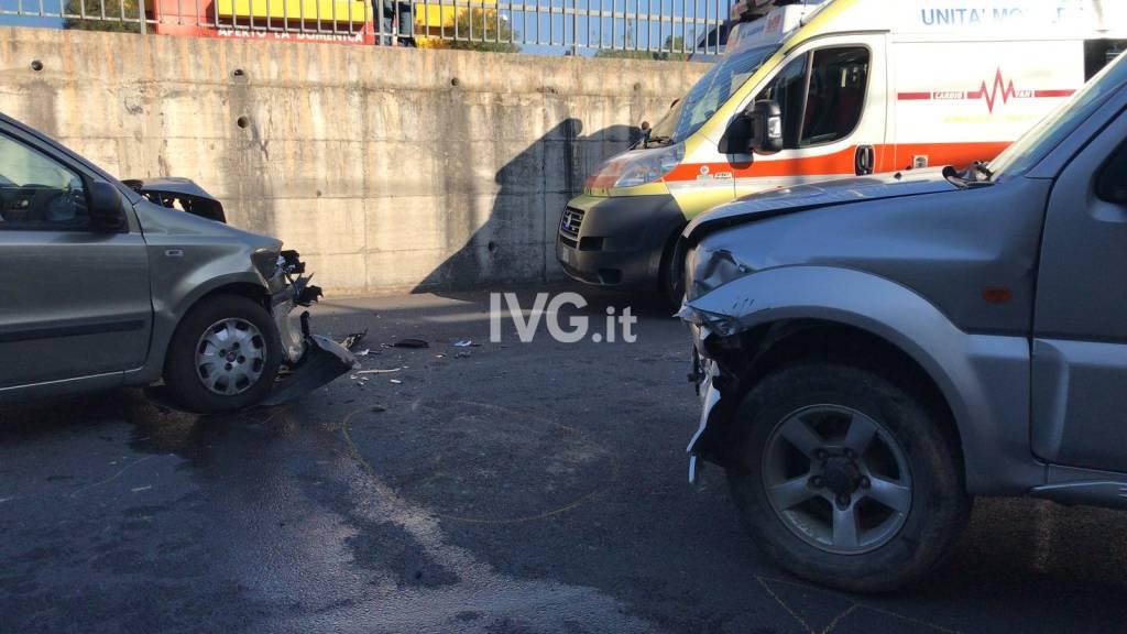 Incidente stradale a Villanova d'Albenga