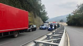 incidente superstrada polizia stradale ambulanza