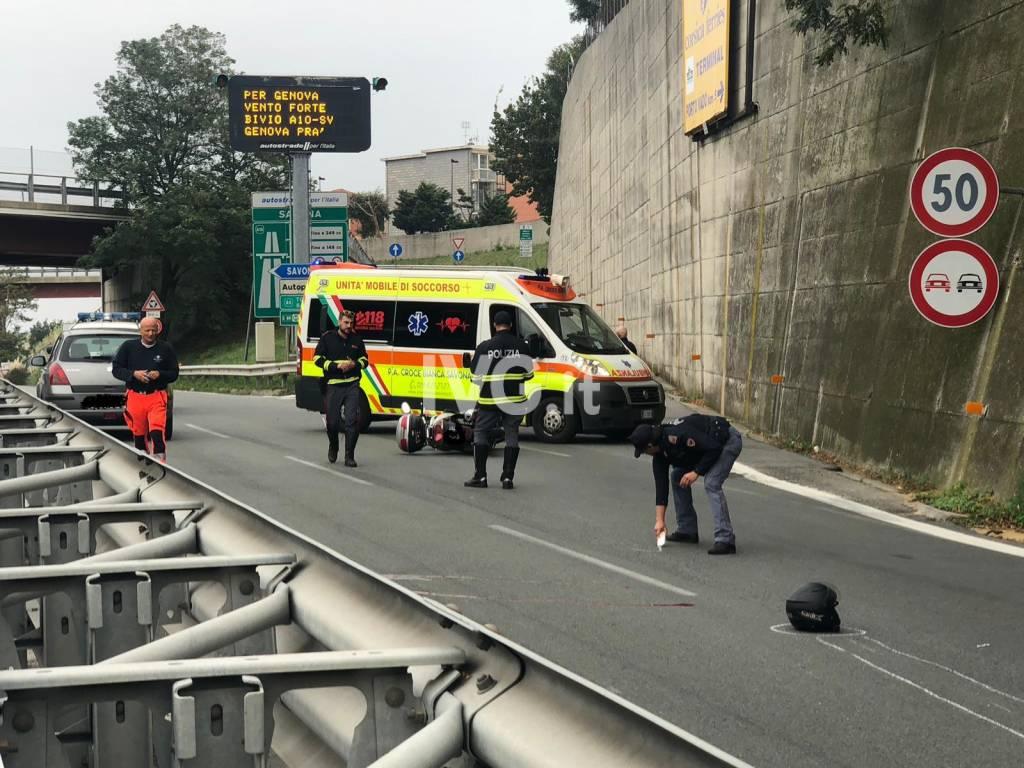 incidente superstrada polizia stradale ambulanza