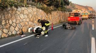 Incidente tra Borgio e Finale, tre feriti