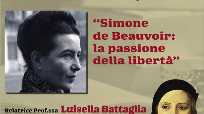 """Incontro Albenga """"Simone de Beauvoir: la passione della libertà"""""""