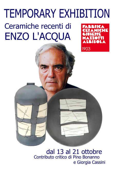 """""""La Materia Segnica"""" mostra Enzo L''Acqua"""