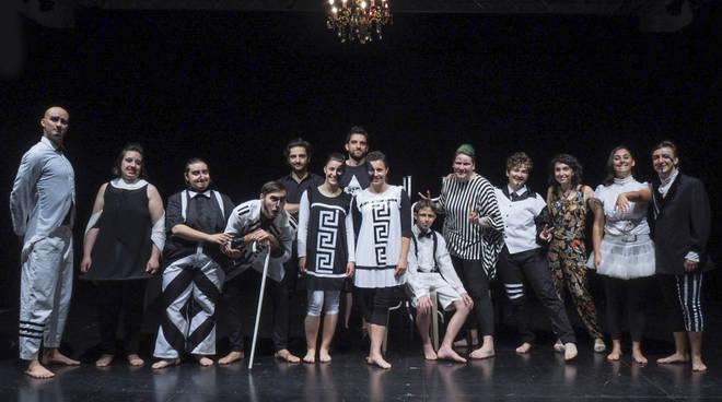 Laboratorio teatrale giovani YEPP Kronoteatro Albenga 2018
