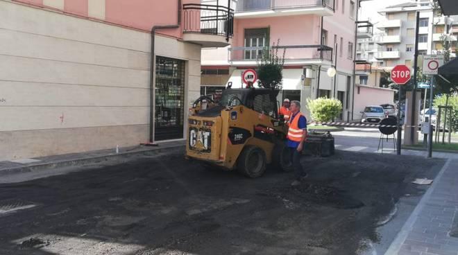lavori asfalto andora