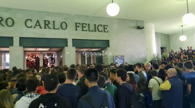liliana segre a Genova