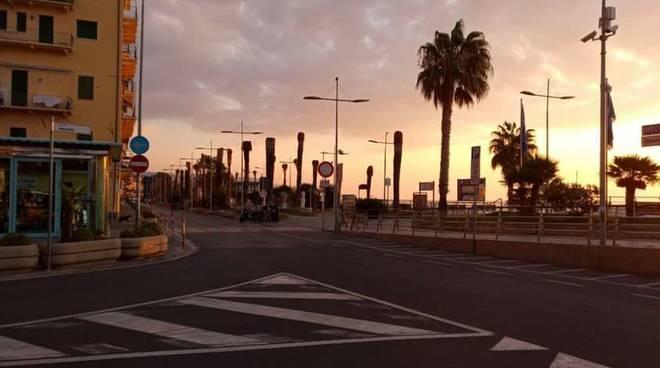 loano verde pubblico palme