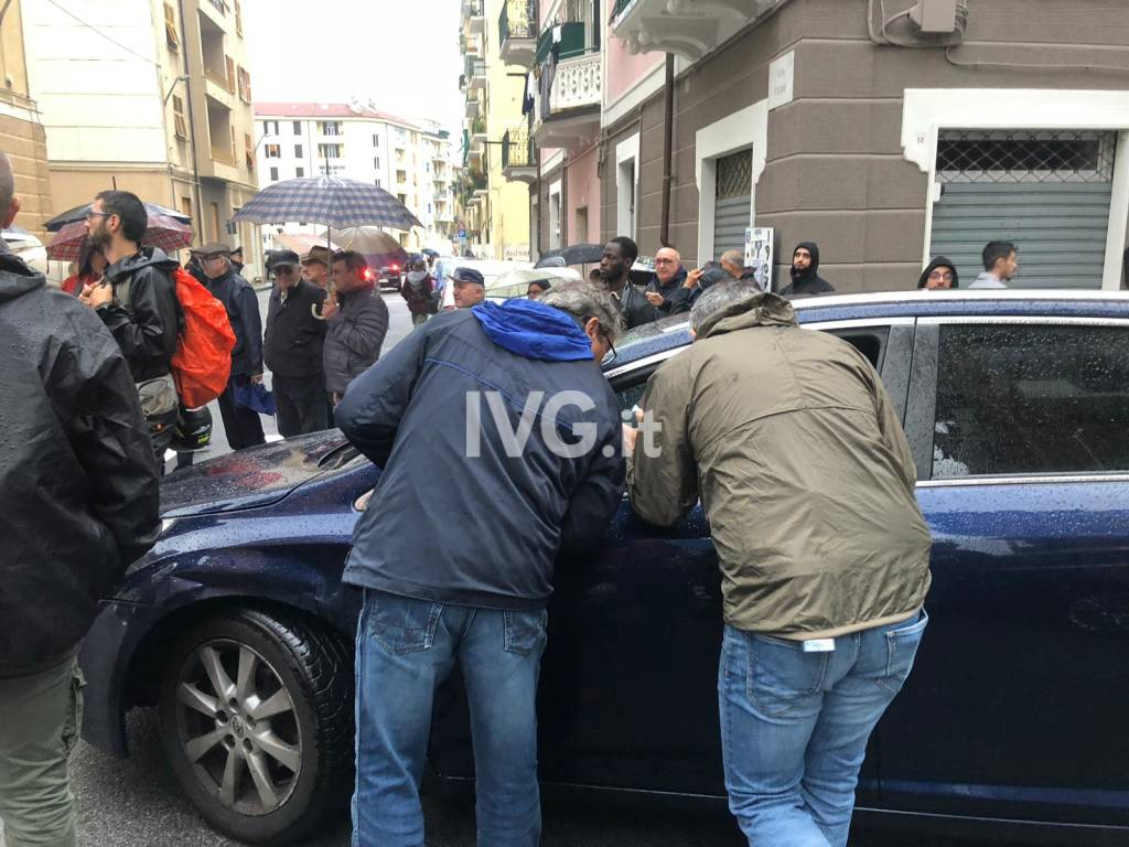 Manifestazione antifascista a Savona