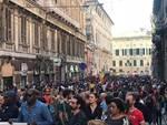Manifestazione antirazzista genova