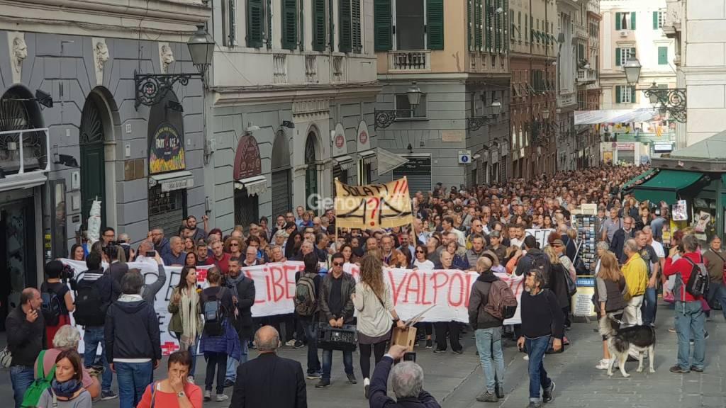 manifestazione valpolcevera morandi