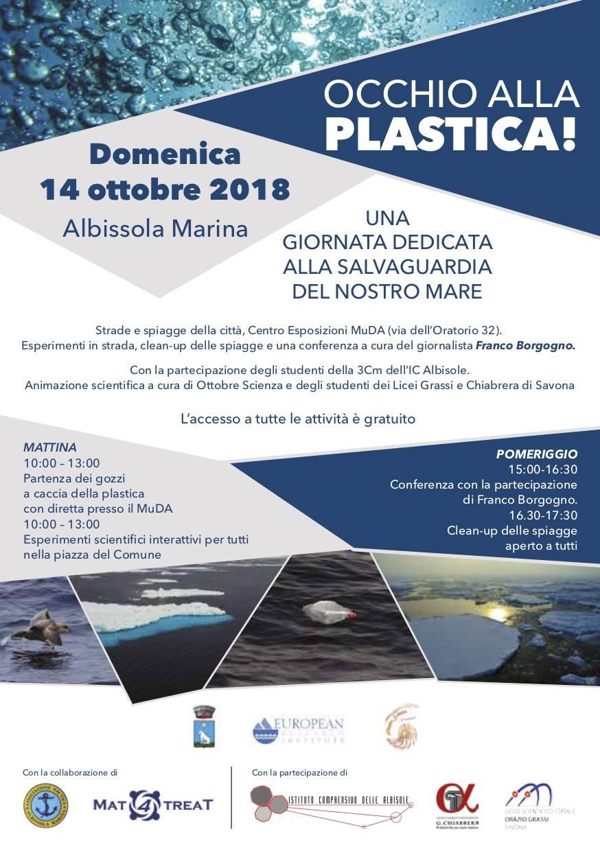 """""""Occhio alla plastica"""" 2018 Albissola Marina"""
