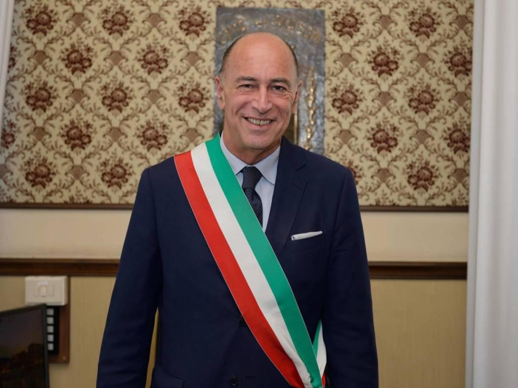 Marco Melgrati Sindaco Fascia