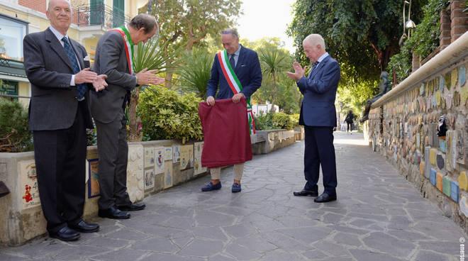Piastrella Dell'Acqua muretto Alassio