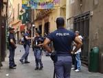 polizia centro storico vicoli