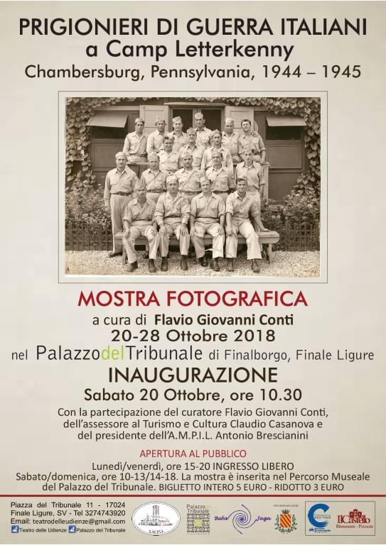 """""""Prigionieri di guerra italiani a Camp Letterkenny 1944 - 1945"""""""