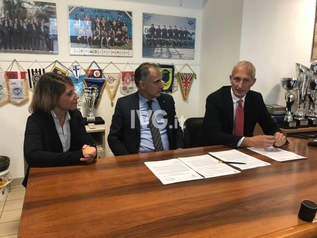 Rari Nantes Savona e Banca Carige rinnovano la partnership