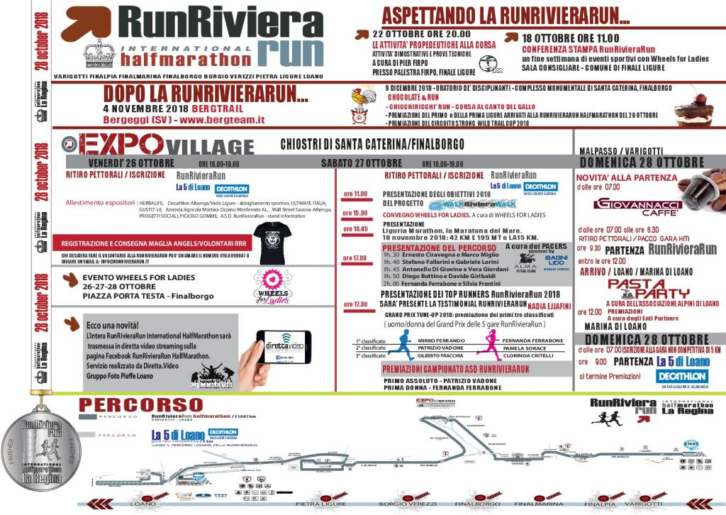 RunRivieraRun International HalfMarathon