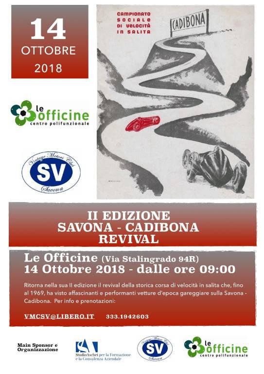"""""""Savona-Cadibona Revival"""" sfilata auto storiche"""