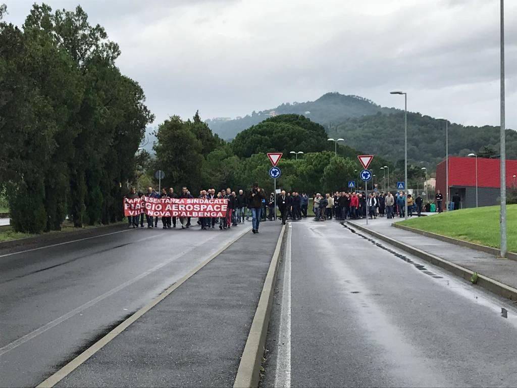 sciopero piaggio