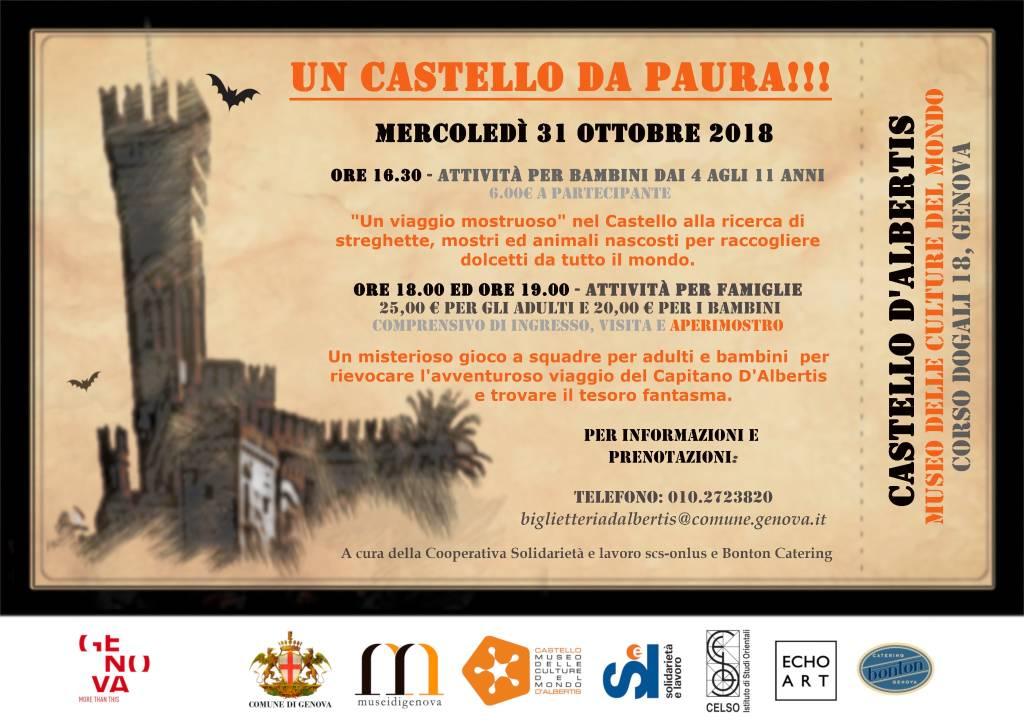 """Un Castello da paura!"" Halloween Castello D'Albertis Genova"