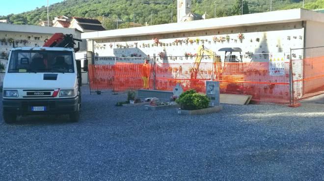 Lavori Loculi Cimitero San Giovanni Andora
