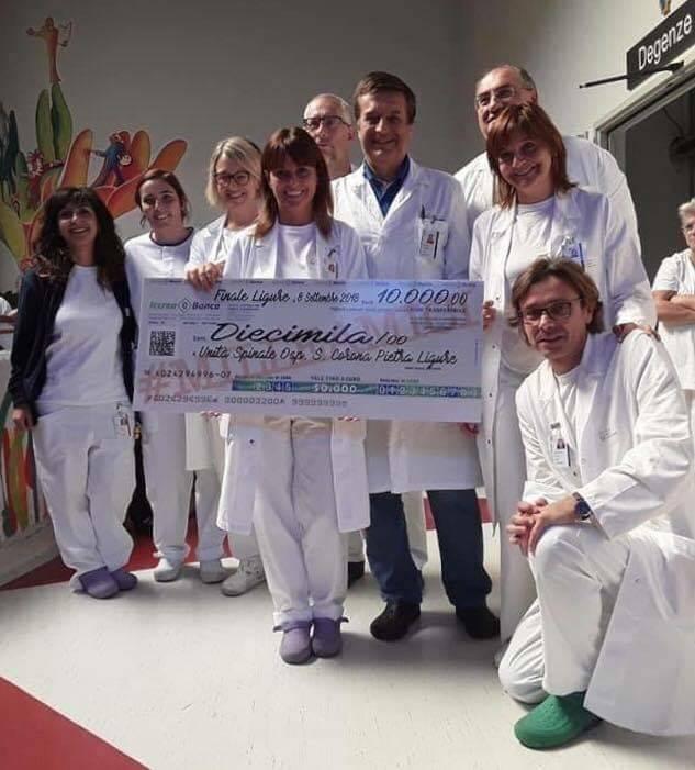 Donazione Unità Spinale Santa Corona