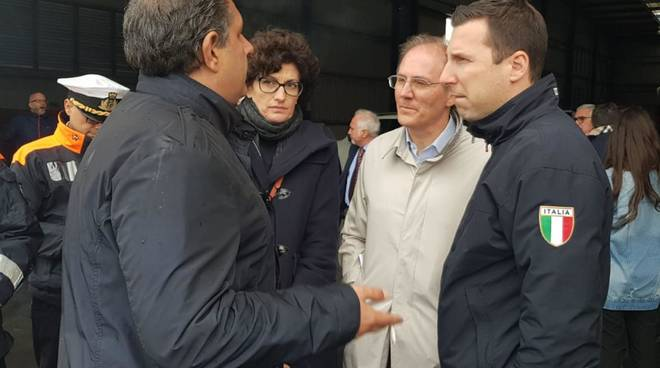 Porto Savona Sopralluogo Toti Signorini