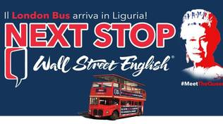 wall street english london bus regina elisabetta