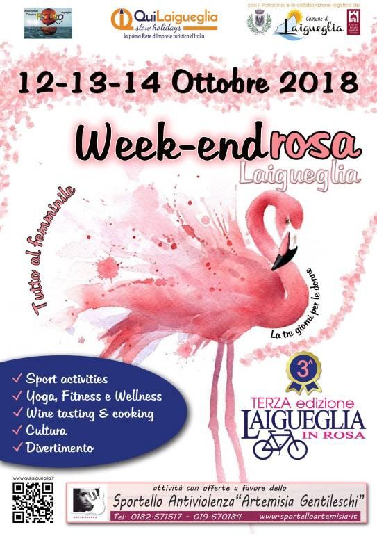 Weekend Rosa Laigueglia 2018