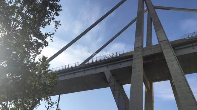 zona rossa ponte morandi,