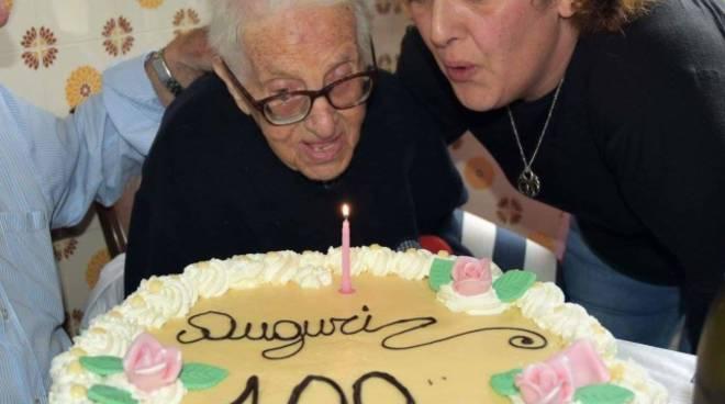 100 anni di Gaglione Maria Laura