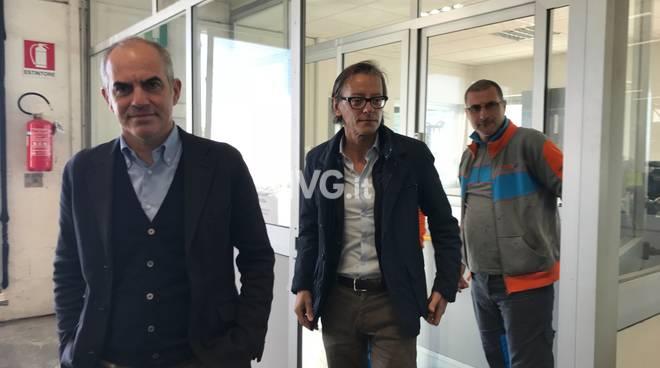 Albenga, focus su LaerH: sopralluogo di sindaco e vicesindaco di Albenga