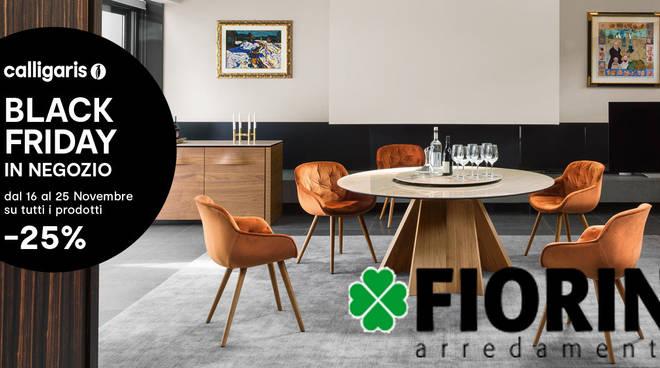 Incredibile offerta Black Friday da Fiorin, -25% su tutta la ...