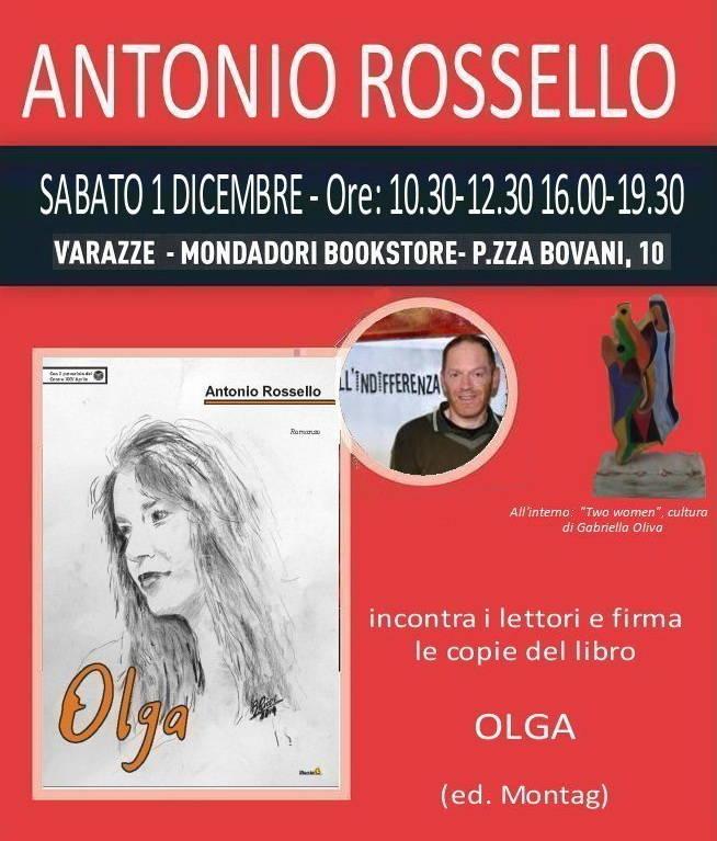 Antonio Rossello incontro con lettori Mondadori Varazze