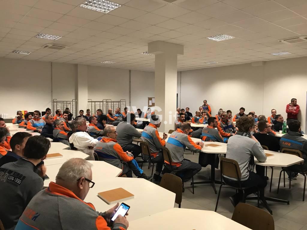 Assemblea dei lavoratori Laerh e focus sullo stabilimento albenganese