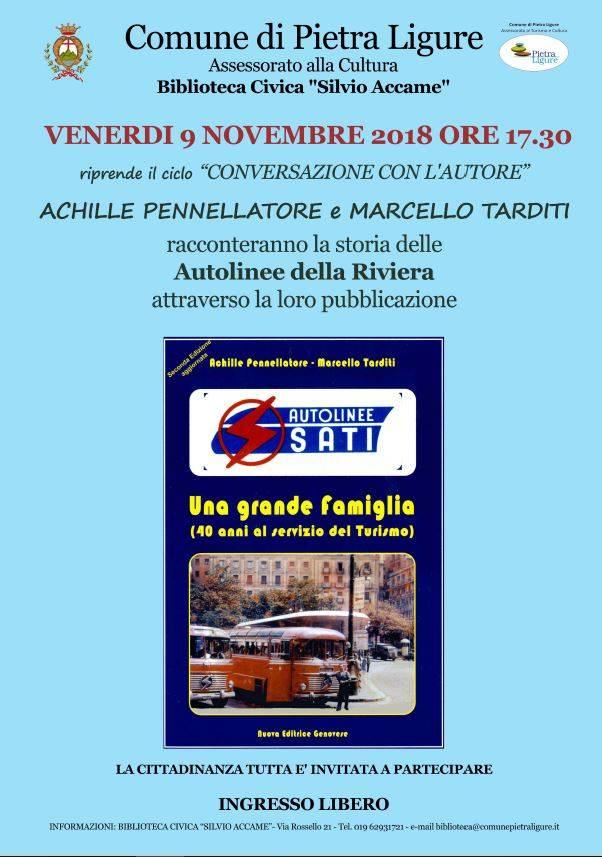 """""""Autolinee SATI"""" libro Achille Pennellatore e Marcello Tarditi"""