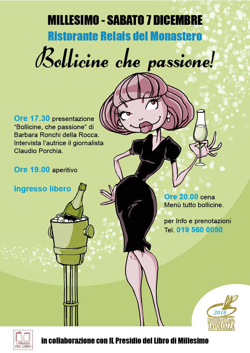"""Barbara Ronchi Della Rocca """"Bollicine che passione!"""" Millesimo"""