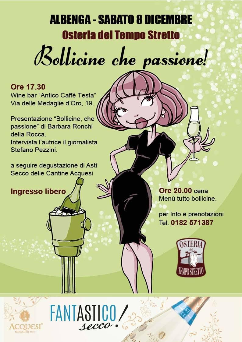 """""""Bollicine che passione"""" Barbara Ronchi Della Rocca Albenga"""