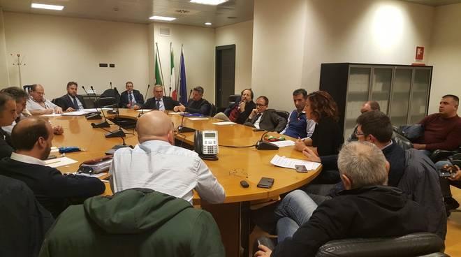 Bombardier riunione Regione Liguria