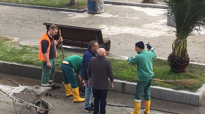 Ceriale danni alle strutture pubbliche per mila euro ivg