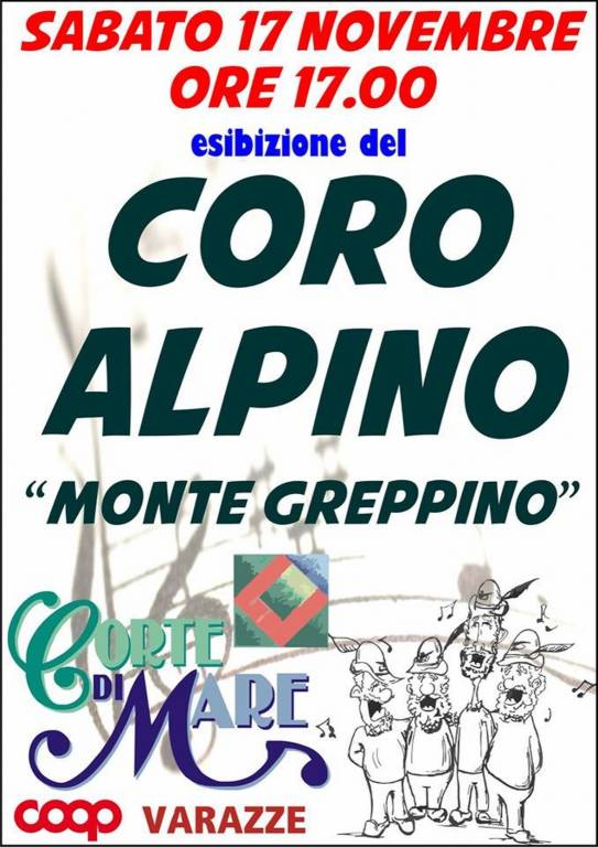 """Concerto Coro Alpino """"Monte Greppino"""" Varazze"""