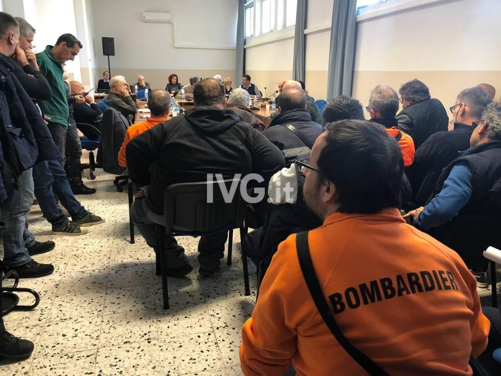 consiglio comunale bombardier
