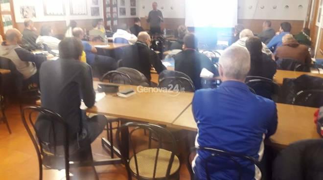 corso allenatori dei portieri a Genova